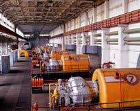 βιομηχανία φυσικού αερίου Στοκ Εικόνα