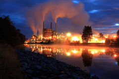 βιομηχανία Στοκ Φωτογραφίες