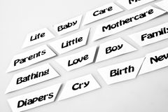 Βιομηχανία Mothercare Στοκ Εικόνες