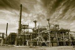 Βιομηχανίες πετρελαίου, αερίου και καυσίμων Στοκ Εικόνες