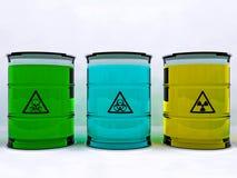βιομηχανικά απόβλητα Στοκ φωτογραφία με δικαίωμα ελεύθερης χρήσης
