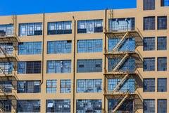 Βιομηχανικά εκλεκτής ποιότητας κτήρια του Σαν Φρανσίσκο σε Καλιφόρνια Στοκ φωτογραφίες με δικαίωμα ελεύθερης χρήσης