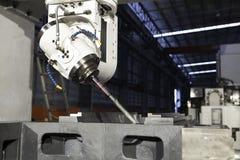 βιομηχανικά εργαλεία μετάλλων μηχανών τρυπανιών Στοκ Φωτογραφία
