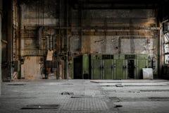 Βιομηχανικά κιβώτια θρυαλλίδων Στοκ Φωτογραφίες
