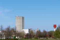 Βιομηχανικά κτήρια στο $ροστόκ στη Γερμανία Στοκ Φωτογραφίες