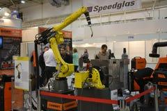 Βιομηχανικά μηχανήματα, βιομηχανικός εξοπλισμός, βιομηχανικά εγκαταστάσεις και εργαλεία μηχανών, τόρνοι μηχανημάτων στοκ φωτογραφίες
