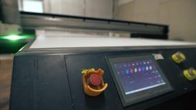 Βιομηχανικά μηχανήματα στην άποψη εργαστηρίων φιλμ μικρού μήκους
