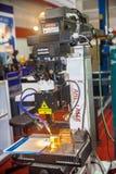 Βιομηχανικά μικροσκόπια Στοκ εικόνες με δικαίωμα ελεύθερης χρήσης