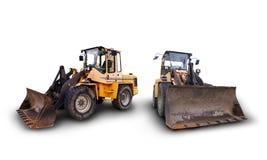 βιομηχανικά οχήματα κατασκευής Στοκ Εικόνες