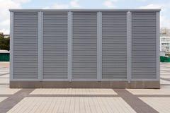 Βιομηχανικά συστήματα κλιματισμού και εξαερισμού Σύστημα εξαερισμού του εργοστασίου HVAC ως θέρμανση του κλιματισμού εξαερισμού στοκ φωτογραφία με δικαίωμα ελεύθερης χρήσης
