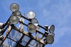 Βιομηχανικά φω'τα Στοκ εικόνα με δικαίωμα ελεύθερης χρήσης