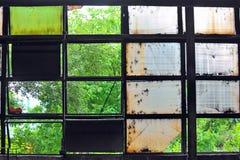 βιομηχανικά Windows Στοκ Εικόνες