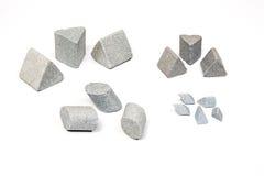 Βιομηχανικές ακονίζοντας πέτρες καθορισμένες Στοκ Φωτογραφίες
