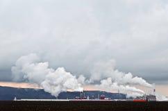 Βιομηχανικές εγκαταστάσεις Στοκ εικόνα με δικαίωμα ελεύθερης χρήσης