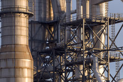 Βιομηχανικές εγκαταστάσεις Στοκ Εικόνες