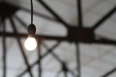 Βιομηχανική λάμπα φωτός Στοκ εικόνα με δικαίωμα ελεύθερης χρήσης