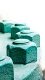 Βιομηχανική ένωση σωληνώσεων με πολλά βίδες και μπουλόνια Στοκ εικόνα με δικαίωμα ελεύθερης χρήσης