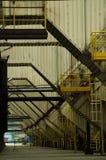 Βιομηχανική αίθουσα στο εργοστάσιο Στοκ φωτογραφία με δικαίωμα ελεύθερης χρήσης