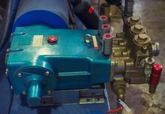 Βιομηχανική αντλία υψηλής επίδοσης στοκ εικόνα με δικαίωμα ελεύθερης χρήσης