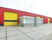 Βιομηχανική αποθήκη εμπορευμάτων Στοκ Φωτογραφίες