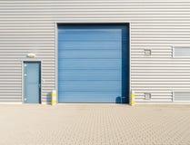 βιομηχανική αποθήκη εμπορευμάτων Στοκ εικόνες με δικαίωμα ελεύθερης χρήσης