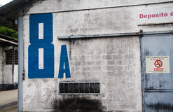 βιομηχανική αποθήκη εμπορευμάτων Στοκ Εικόνες