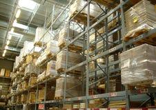 βιομηχανική αποθήκη εμπο&r Στοκ φωτογραφία με δικαίωμα ελεύθερης χρήσης
