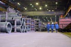 βιομηχανική αποθήκη Στοκ φωτογραφίες με δικαίωμα ελεύθερης χρήσης