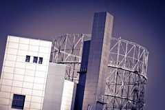 Βιομηχανική αρχιτεκτονική Στοκ Εικόνες