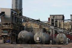 βιομηχανική αυλή Στοκ Εικόνες