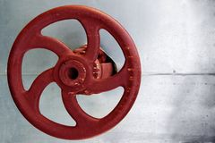 βιομηχανική βαλβίδα στοκ εικόνα