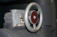 Βιομηχανική βαλβίδα ελέγχου Στοκ Φωτογραφία