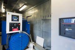 Βιομηχανική γεννήτρια diesel για την εφεδρική δύναμη στοκ εικόνες