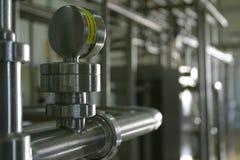 βιομηχανική εργασία ανοξ& Στοκ εικόνες με δικαίωμα ελεύθερης χρήσης