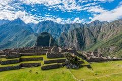 Βιομηχανική ζώνη και κύριες τετραγωνικές καταστροφές Άνδεις Cuzco Π Machu Picchu στοκ φωτογραφίες με δικαίωμα ελεύθερης χρήσης