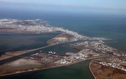 Βιομηχανική ζώνη της Τυνησίας Στοκ φωτογραφίες με δικαίωμα ελεύθερης χρήσης