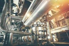 βιομηχανική ζώνη χάλυβα σω& Στοκ Εικόνες