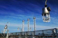 βιομηχανική ζώνη Στοκ Εικόνα