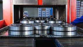 Βιομηχανική και έννοια μηχανημάτων Ένα tecnological μέρος της συμπεριφοράς της παραγωγής και της συγκέντρωσης Μεταφορέας στη συμπ απόθεμα βίντεο