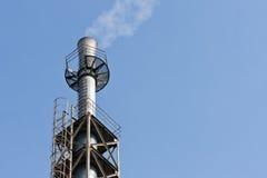 βιομηχανική καπνοδόχος Στοκ Φωτογραφίες