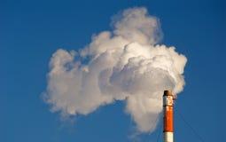 βιομηχανική καπνοδόχος Στοκ φωτογραφία με δικαίωμα ελεύθερης χρήσης