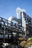 βιομηχανική καπνοδόχος &omicro Στοκ Εικόνα