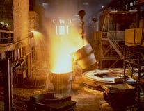βιομηχανική μεταλλουργία Στοκ φωτογραφία με δικαίωμα ελεύθερης χρήσης