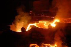 βιομηχανική μεταλλουργία Στοκ φωτογραφίες με δικαίωμα ελεύθερης χρήσης
