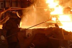 βιομηχανική μεταλλουργία Στοκ Φωτογραφίες