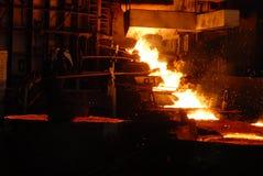 βιομηχανική μεταλλουρ&gamm Στοκ Εικόνες