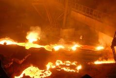 βιομηχανική μεταλλουρ&gamm Στοκ Φωτογραφίες
