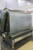 Βιομηχανική μηχανή - μεγάλο κιβώτιο σιδήρου για γεωργικό manufactory Σύγχρονες βιομηχανίες Στοκ εικόνα με δικαίωμα ελεύθερης χρήσης