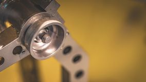 Βιομηχανική μηχανική συσκευή τμημάτων μηχανών στοκ εικόνα