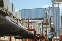 βιομηχανική νεώτερη ζώνη καθαρισμού πετρελαίου εξοπλισμού στοκ εικόνα με δικαίωμα ελεύθερης χρήσης